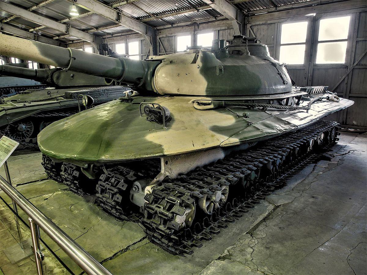 Топ-10 самых больших танков в мире