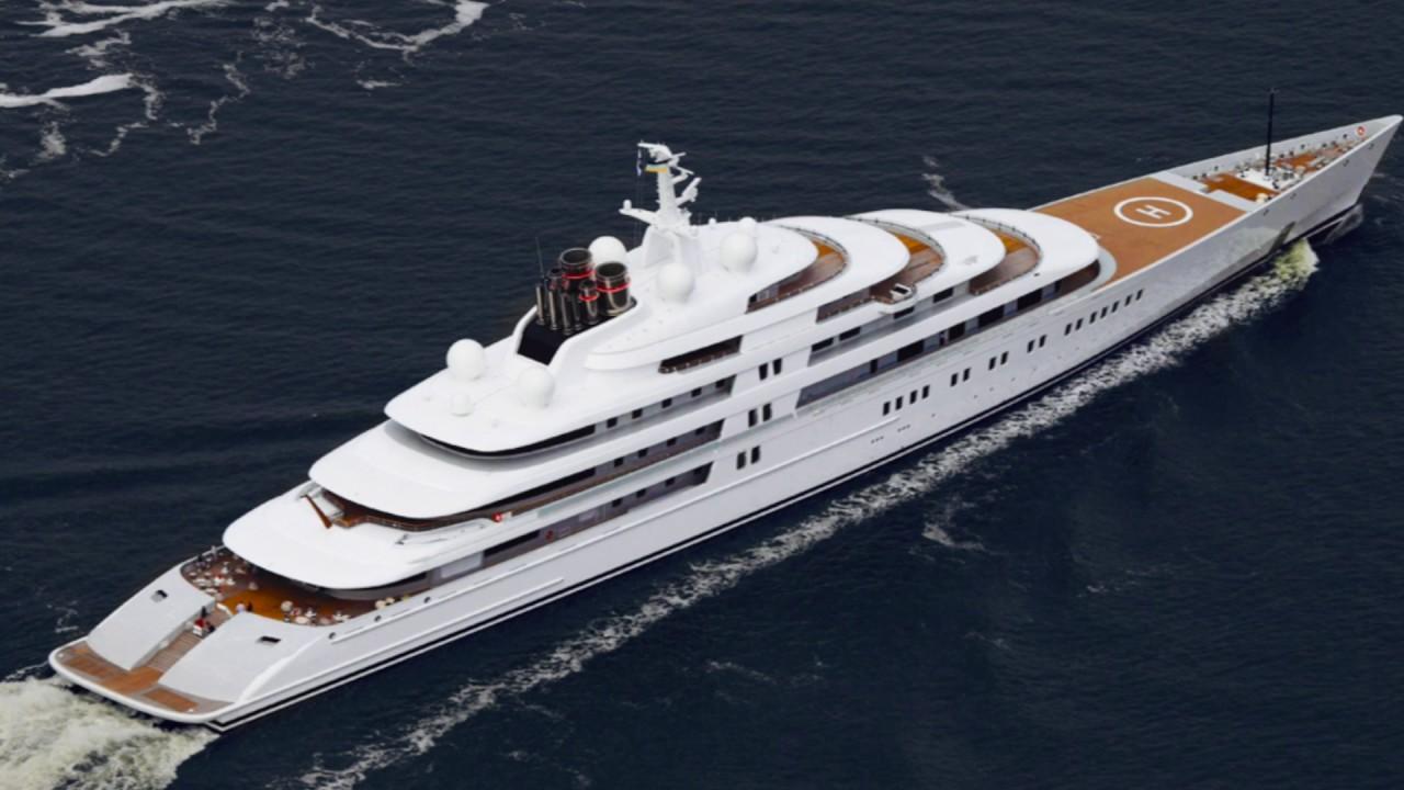 Самые дорогие яхты в мире: Топ-10