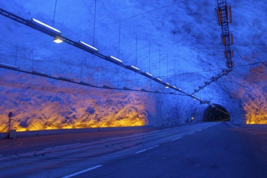 Топ-10 самых длинных тоннелей в мире