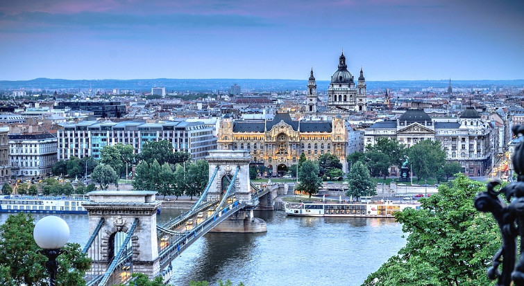 Самые посещаемые города Европы туристами
