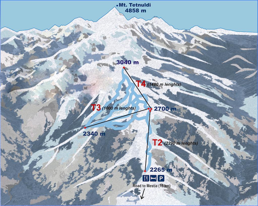 Топ лучших горнолыжных курортов Грузии