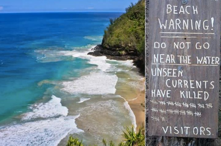 Топ-10 самых опасных пляжей мира, где не стоит купаться
