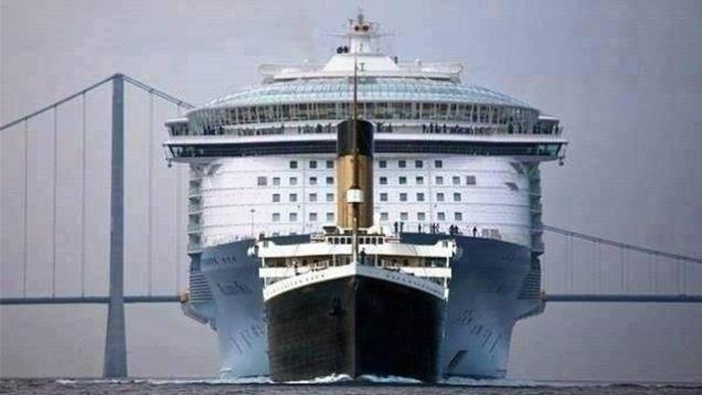 Топ самых больших кораблей в мире